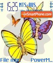 Butterfly 111 es el tema de pantalla