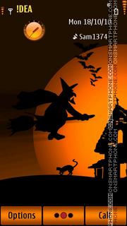 Скриншот темы Halloween S3