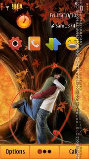 Autumn Love s3 tema screenshot