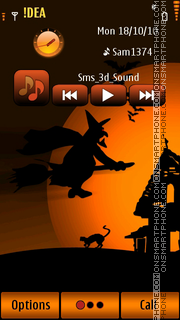 Halloween v5 theme screenshot
