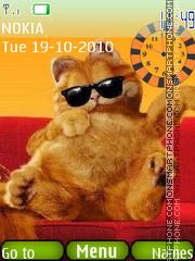 Garfield 32 theme screenshot