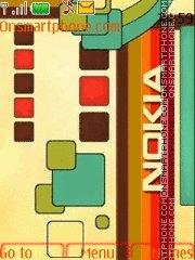 Скриншот темы Nokia Colours 01