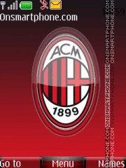 New Ac Milan theme screenshot