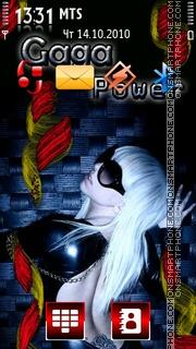 Gaga Power es el tema de pantalla