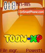 Toon-XP theme screenshot
