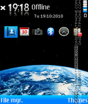 Earth 89 theme screenshot