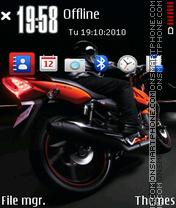 Nice Bike 03 theme screenshot