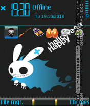 Happy Halloween 09 theme screenshot