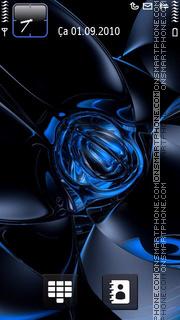 Скриншот темы Abstract Blue Colors