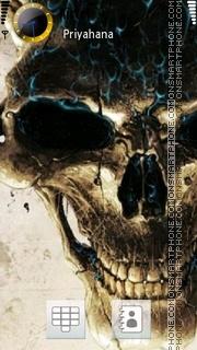 Скриншот темы Skull 14