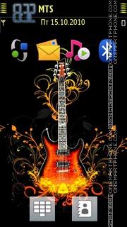 Guitar With Tone 02 tema screenshot