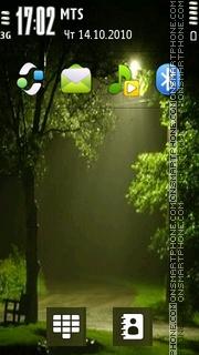 After Rain 02 es el tema de pantalla