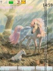 Unicorn tema screenshot