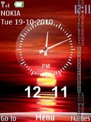 Sunset Dual theme screenshot