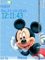 Скриншот темы Mickey Icons