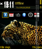 Cheetah 02 theme screenshot