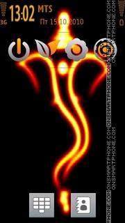Ganesh 10 es el tema de pantalla