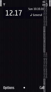 Скриншот темы Nokia N8 Dark Grey