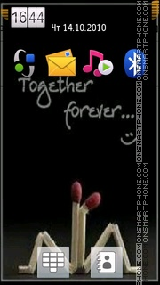 Together Forever 04 theme screenshot