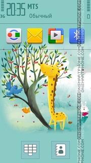 Giraffe 04 theme screenshot