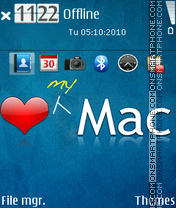 Love my mac theme screenshot