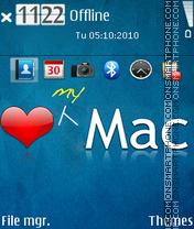 Capture d'écran Love my mac thème