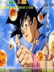 Goku theme screenshot