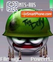 Smile 01 es el tema de pantalla
