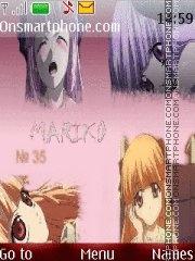 Скриншот темы Mariko