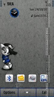 Mr Lonely S^3 es el tema de pantalla