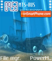 Animated Undersea es el tema de pantalla