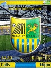 FC Metallist K850 tema screenshot