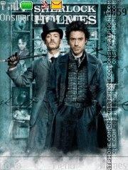 Capture d'écran Sherlock Holmes thème