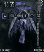 Angel 27 theme screenshot