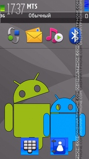 Android 08 tema screenshot