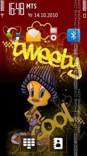 Tweety Cool theme screenshot