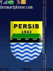 Persib Bandung theme screenshot
