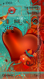 Abstract Heart s3 es el tema de pantalla