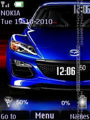 Mazda Signal N Battery Theme-Screenshot