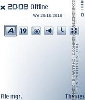 AbsolutePure theme screenshot