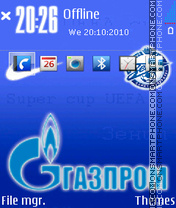 FC Zenit 02 theme screenshot