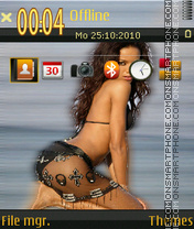 Selita Ebanks theme screenshot
