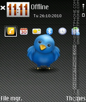 Twitter 01 theme screenshot