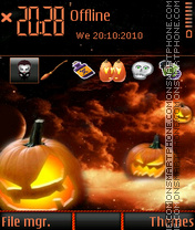 Halloween 2014 theme screenshot
