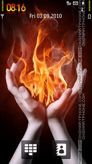 Fire Hand es el tema de pantalla