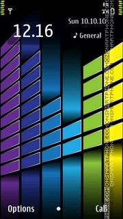 Скриншот темы Magic Cubes