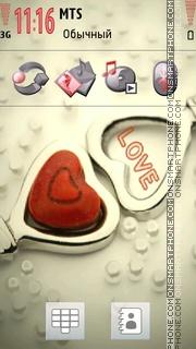 Love Heart 03 es el tema de pantalla