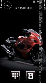 Скриншот темы Suzuki Hayabusa 2