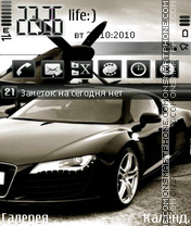 Audi R8 by Afonya777 theme screenshot