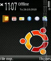 Ubuntu terapy fp1 theme screenshot